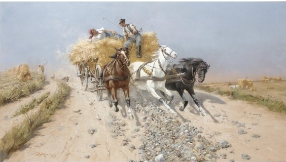 PATAKY, mare pictor maghiar, Gaza 013